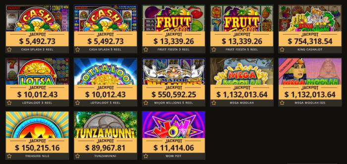 jackpot в казино