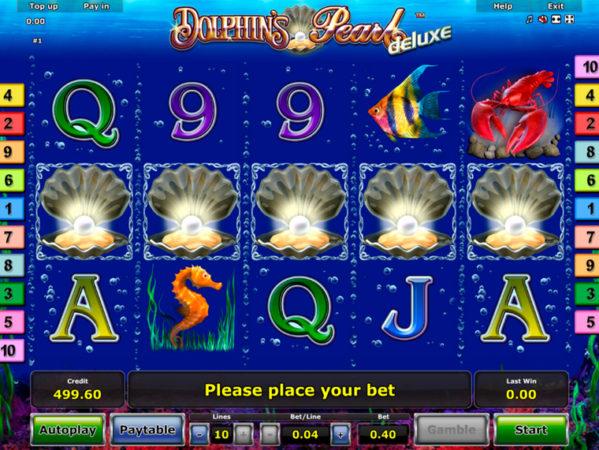 Игровой автомат Dolphins pearl (жемчужина дельфина) играть